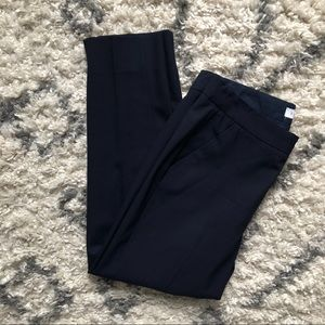 Everlane Wool Cropped Pant in Navy